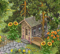 Tips & Tricks: A Cottage in the Greenery