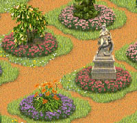 Tips & Tricks: Circular flower patches