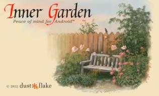 Welcome screen of Inner Garden